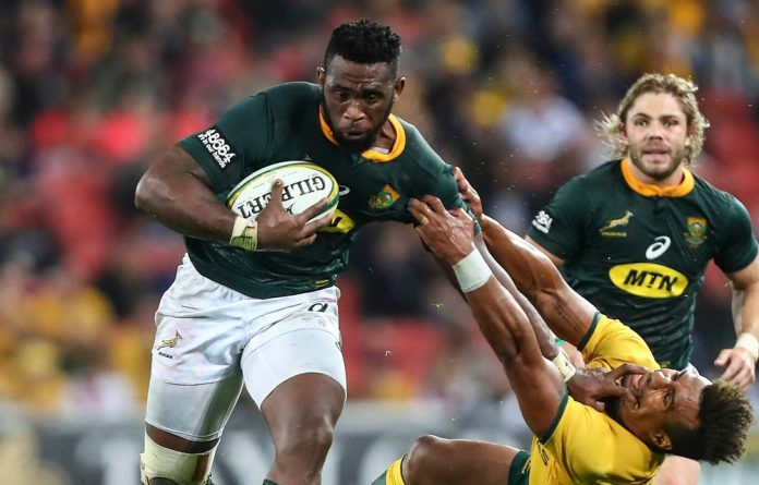 Springbok captain Siya Kolisi was one of only three players of colour who ran out on to the pitch against France last Saturday.
