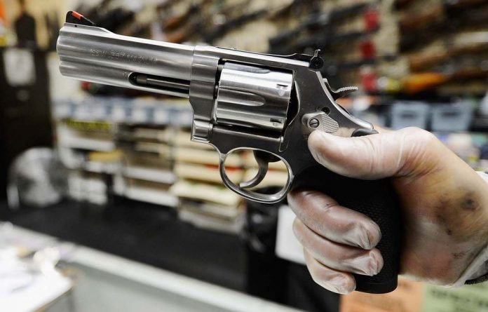 Gun sales at Smith & Wesson have hit a record high.