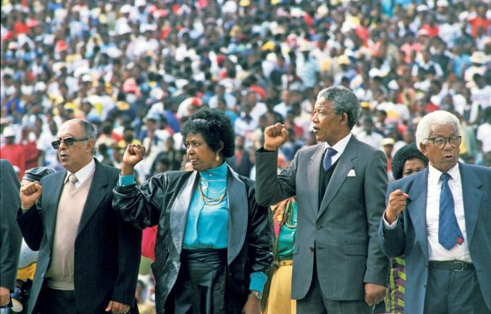 More than 100 000 people attended a rally in Soweto on February 13 1990