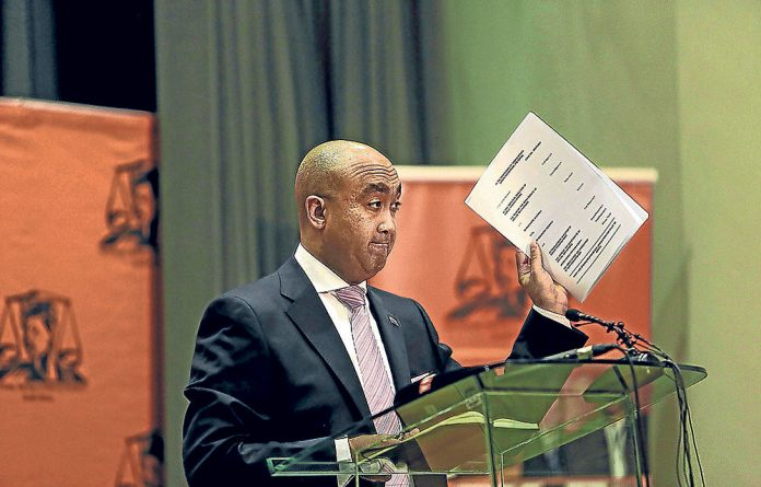 Memo to Shaun Abrahams: We've compiled a cut-out-and-keep charge sheet for your convenience.