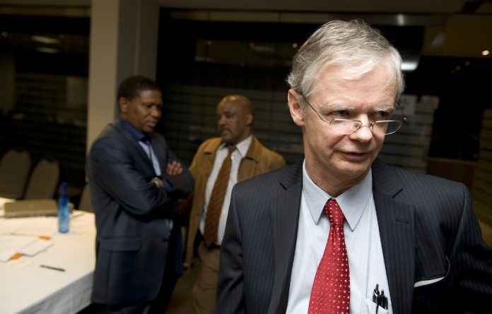 Hofmeyr clarified that although he was one of the five people who came to the conclusion to withdraw charges