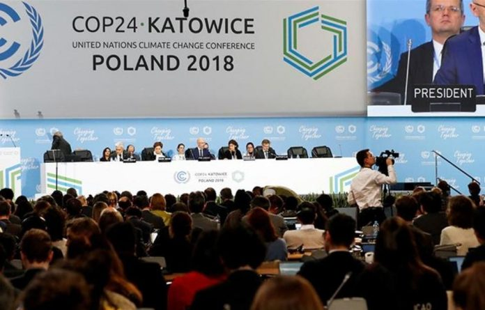 COP24 President Michal Kurtyka speaks during a final session of the COP24 UN Climate Change Conference 2018 in Katowice