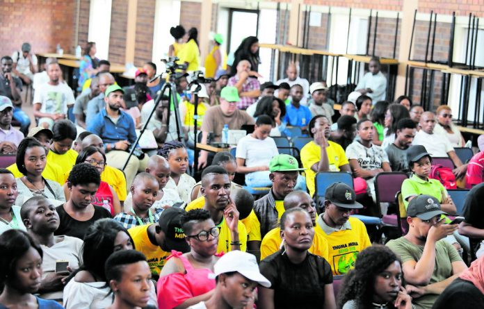 A panel discussion was hosted by the Gauteng Provincial Legislature in partnership with the Mail & Guardian at Unisa's Sunnyside Campus in Tshwane