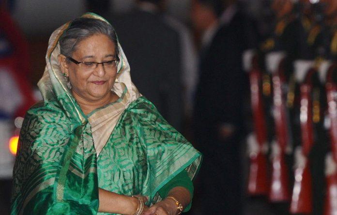 Bangladesh's Prime Minister Sheikh Hasina.