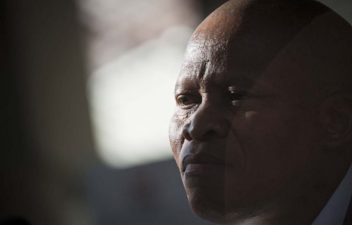 Rule of religion: Chief Justice Mogoeng Mogoeng.