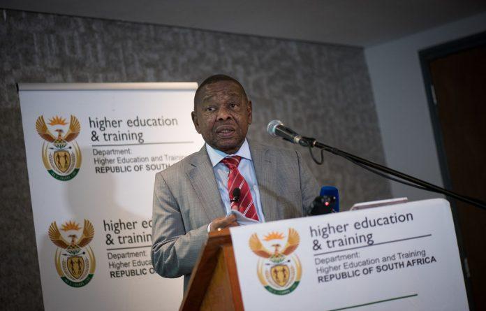 Transport Minister Blade Nzimande.