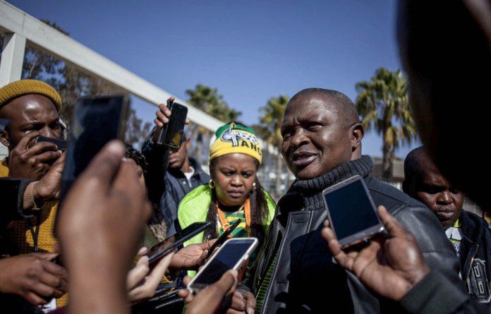 Lone wolf: Mpumalanga Premier David Mabuza is refusing to endorse Nkosazana Dlamini-Zuma as the next ANC president