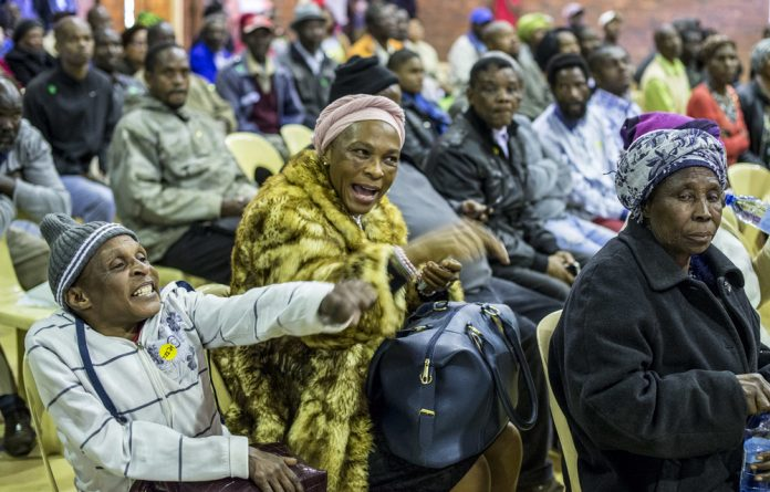 Emotions ran high during the Vryheid leg of the land hearings when people talked about their experiences. Most were in favour of expropriation without compensation.