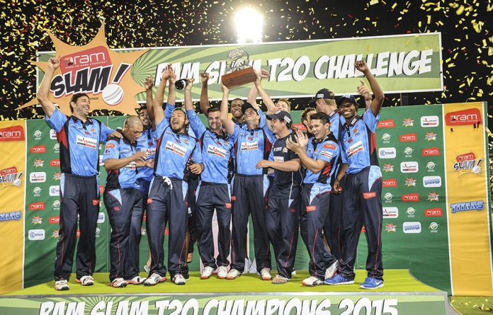 The Titans celebrate during the Ram Slam T20 Challenge final match. The 30-match tournament provided many opportunities for fixing.