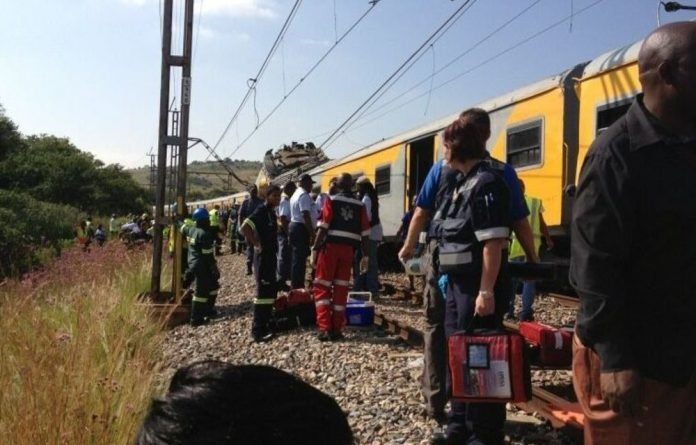 A train driver has been left in a critical condition after a crash in Pretoria.