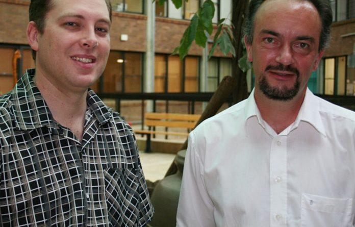 Dr Christo Venter and Professor Markus Böttcher.