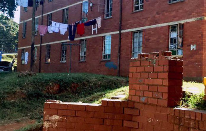 Photo: Glebelands Hostel in Umlazi. Photo:Vanessa Burger/