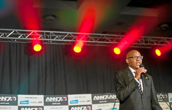Jimmy Manyi returns to South African TV screens as an anchor for new channel ANN7.