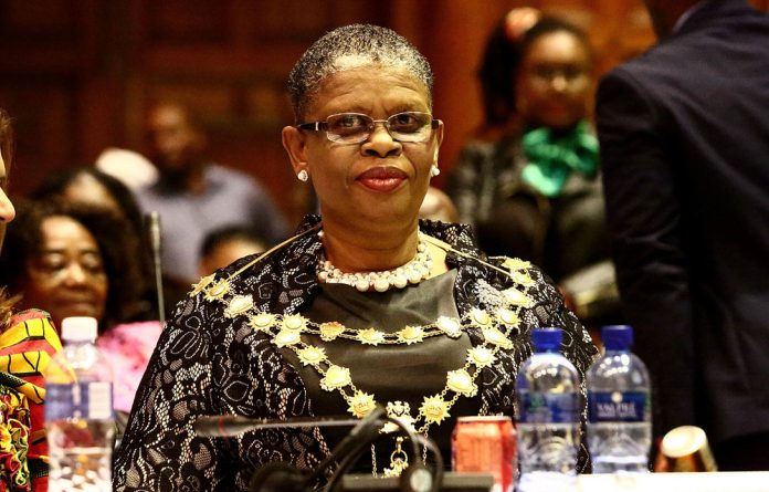 eThekwini Mayor Zandile Gumede wants R100-million for her parlour.