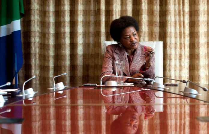 Baleka Mbete insists that her decision to ask the EFF to leave Parliament was not motivated by her ANC affiliation.