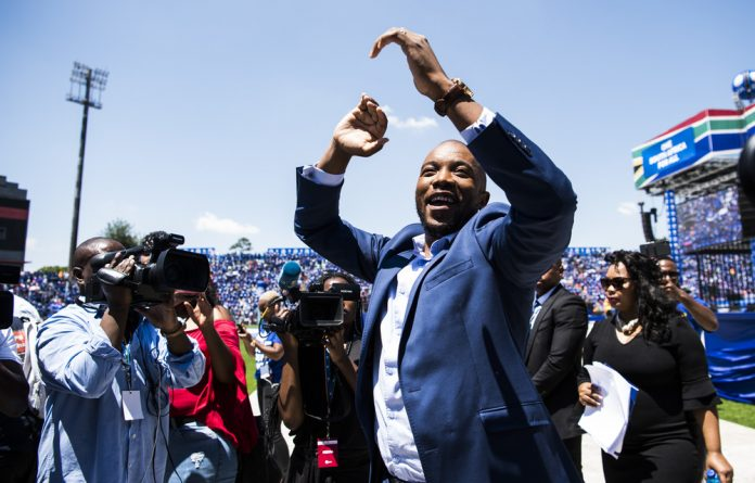 Howzat: Democratic Alliance leader Mmusi Miamane is confident about the party's performance and says the DA's aim is to retain the Western Cape and govern in Gauteng and the Northern Cape.