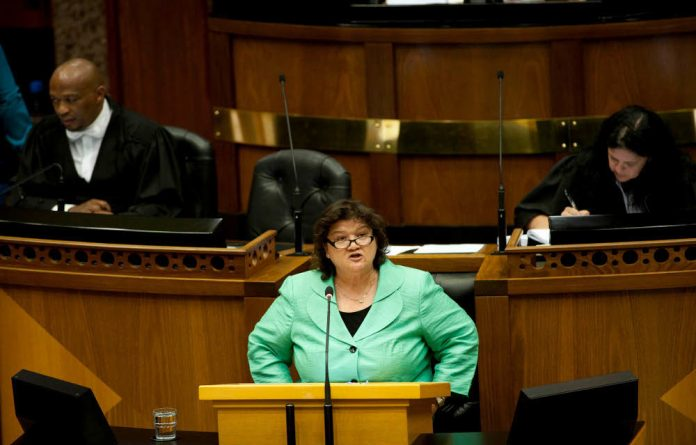 Lynne Brown is determined to find a long-term solution to the energy crisis