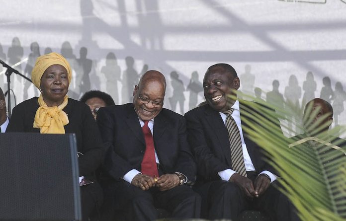 Contenders: Nkosazana Dlamini-Zuma