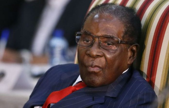 Comrade no more: 'Mr' Robert Mugabe can no longer use Zimbabwe's state machinery to push his personal agenda.