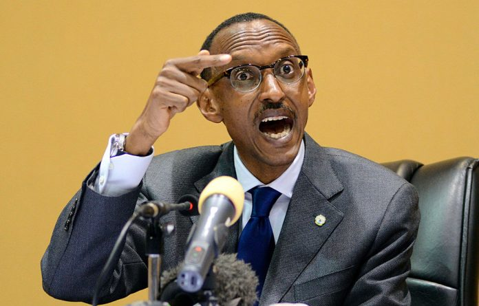 Tony Blair and Bill Clinton heap praise on Rwanda's President Paul Kagame