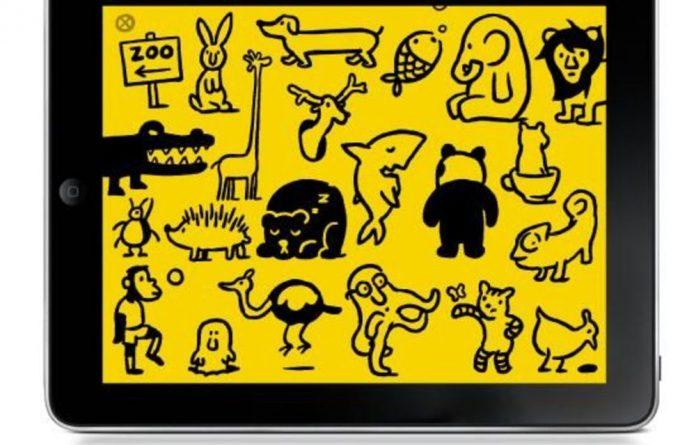 The Petting Zoo app by Christoph Niemann.