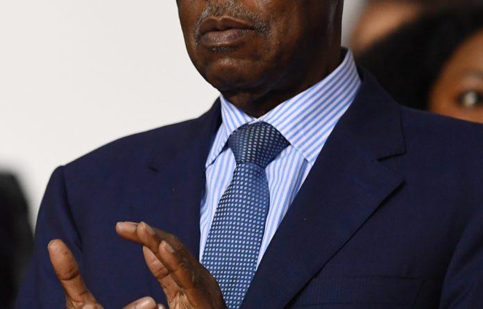 CAF president Issa Hayatou.