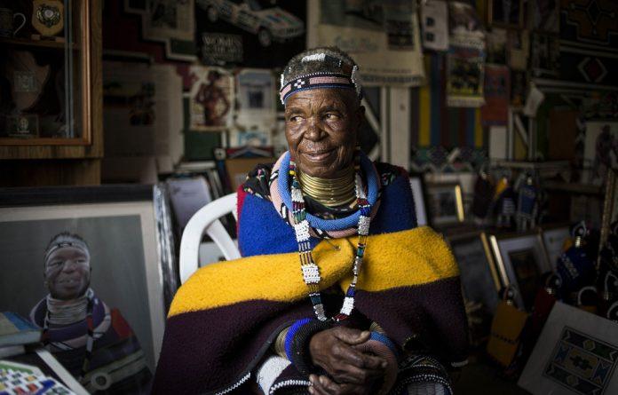 Grand dame: Esther Mahlangu