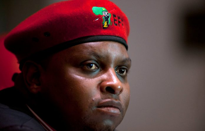 Shivambu objected to Momoniat constantly being present at all the committee's meetings instead of other senior