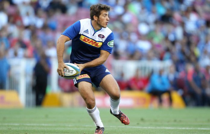 Points taken: Stormers flyhalf Demetri Catrakilis can be relied on to kick penalties and conversions but the Cape Town team will need tries as well to defeat the Lions.