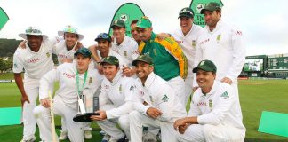 The Proteas have kept the 15-man side that beat New Zealand 1-0 in a three-Test series in March for their series against England.