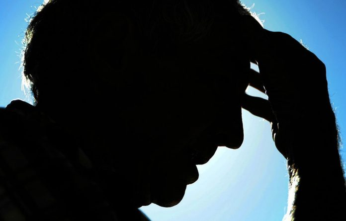 Tormented: The father of a high school pupil who was allegedly raped while at a rugby camp.