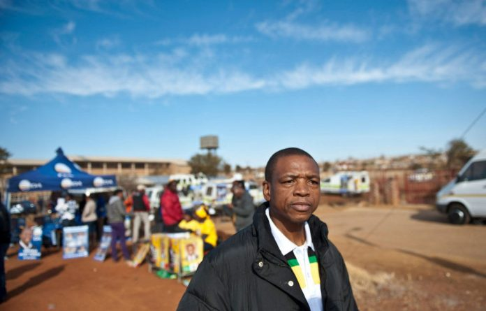 Mahumapelo has been accused of corruption and failing to run the provincial government properly