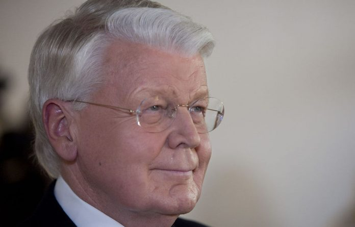 Icelandic President Olafur Ragnar Grimsson waits for latest ballot results in the presidendtial elections.