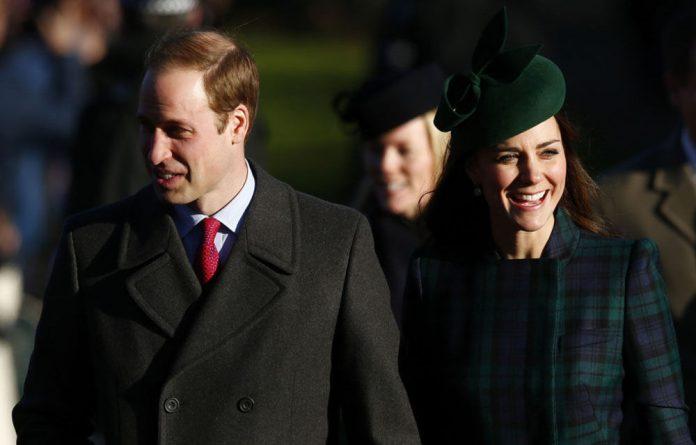 Britain's Prince William and Catherine