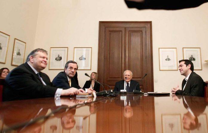 Greece's President Karolos Papoulias