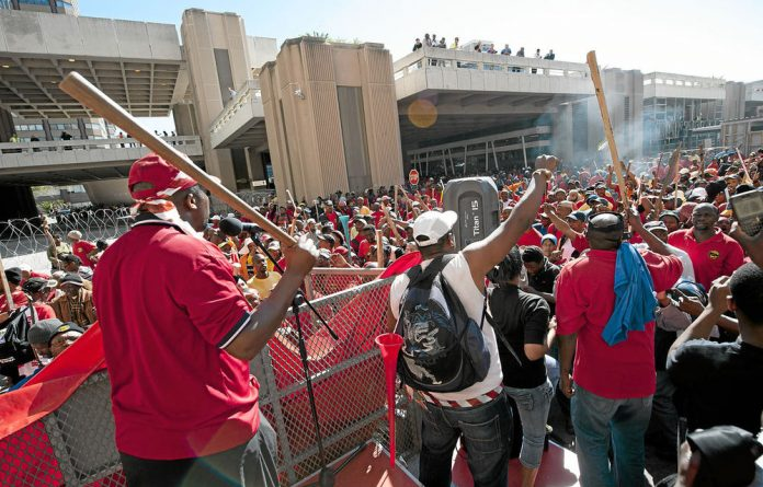 Samwu said local government strikes would take place right across the country.