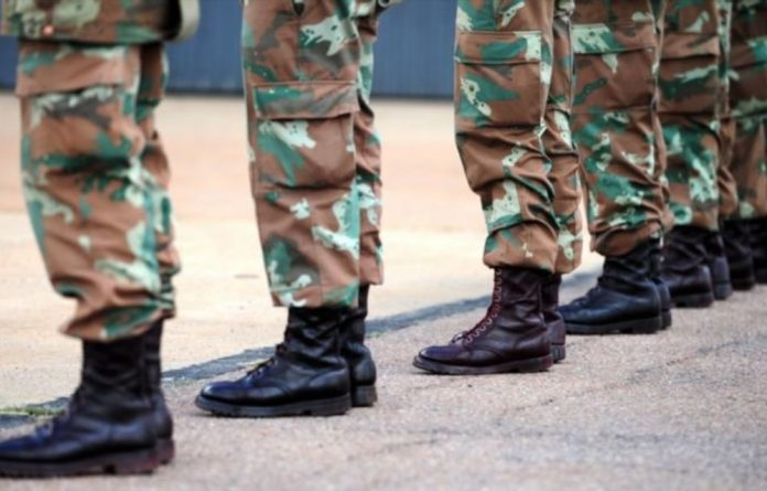 The SANDF argued that according to the relevant legislation it is not lawful for civilians to live on a military base.
