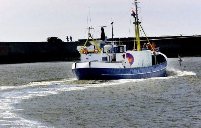 The Dutch abortion ship 'Aurora' is specially equipped to carry out up to 20 abortions a day.