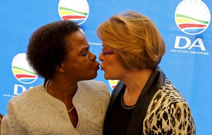Mamphela Ramphele and Helen Zille.