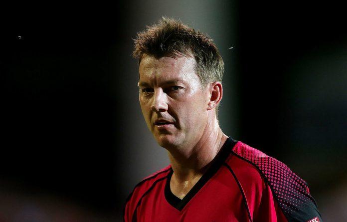 Australia bowler Brett Lee.