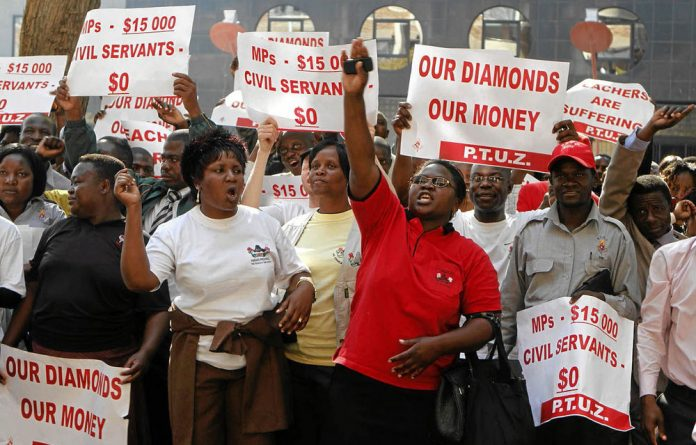 Public servants have refused to lower their ­demand for wage increases and marched to Parliament instead.
