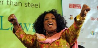 Forbes on Monday has named the Oprah Winfrey as the highest paid celebrity for the fourth straight year.