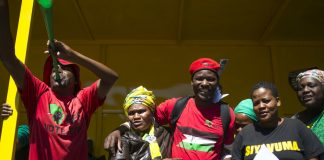 The Economic Freedom Fighters flip-flop over everything