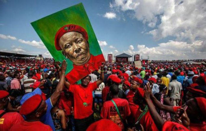 A group of 'EFF defenders' led by Lufuno Gogoro say that they are disgruntled