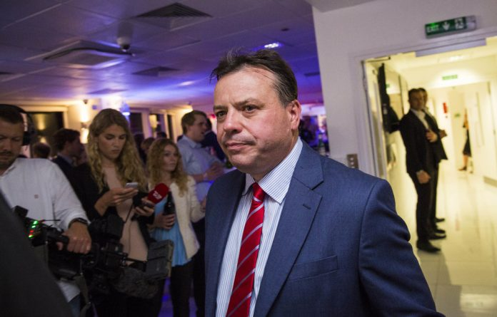 The reward for the cop charging Arron Banks's former partner with criminal activities was allegedly property worth R20-million.