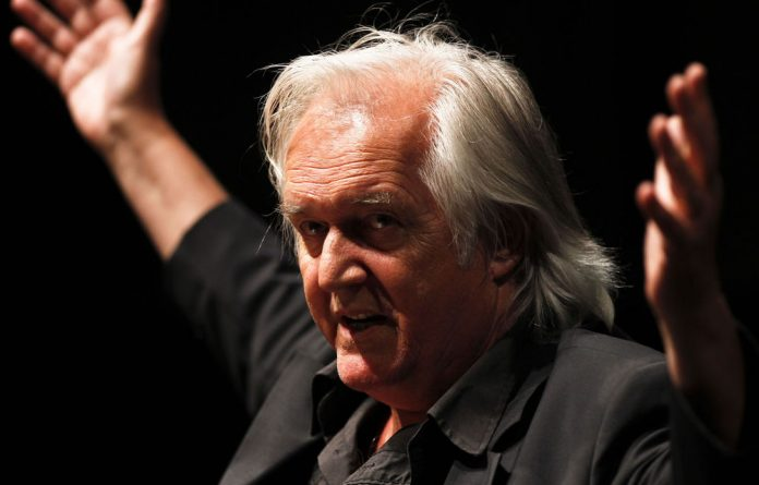 Crime writer Henning Mankell.