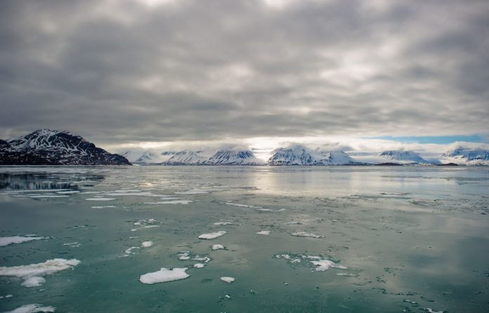 The Arctic sea's ice shrink record is widely seen by scientists as a strong signal of long-term climate warming.