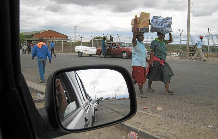 Border crossing: An estimated three million Zimbabweans are in South Africa.