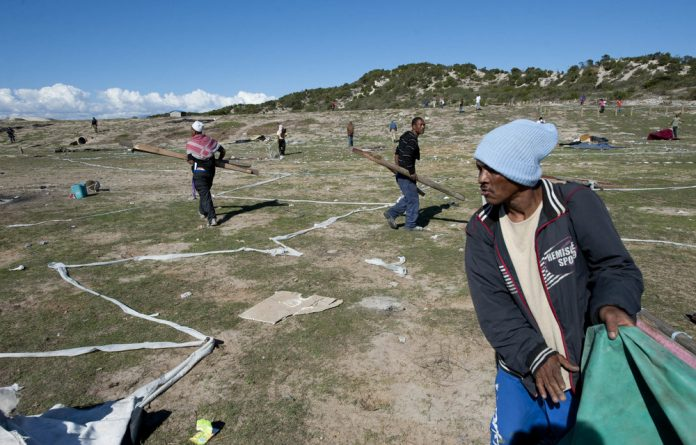 Whose land is it? Recent land occupations and forced removals in areas such as Mitchells Plain have again placed the spotlight on the immense hunger for land among South Africans.