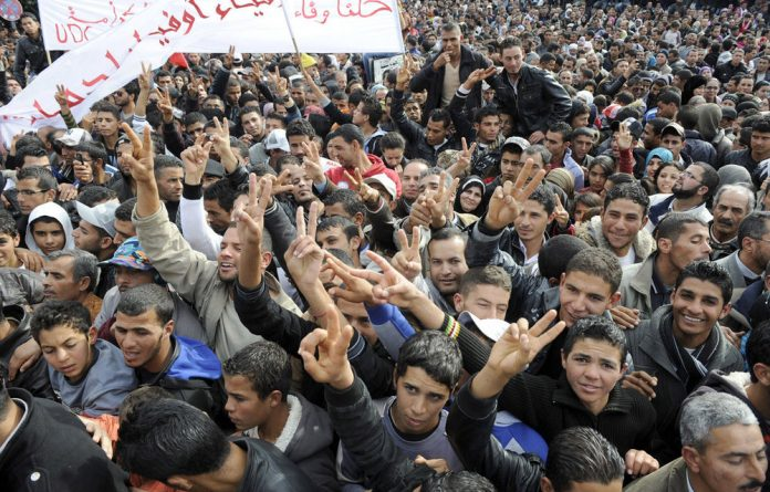 The Arab Spring has left millions displaced.
